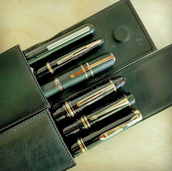 How to Store a Fountain Pen - Leather Fountain Pen case