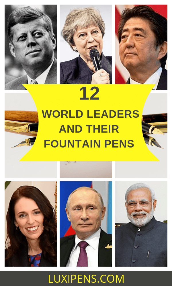 Fountain-pens-of-world-leaders