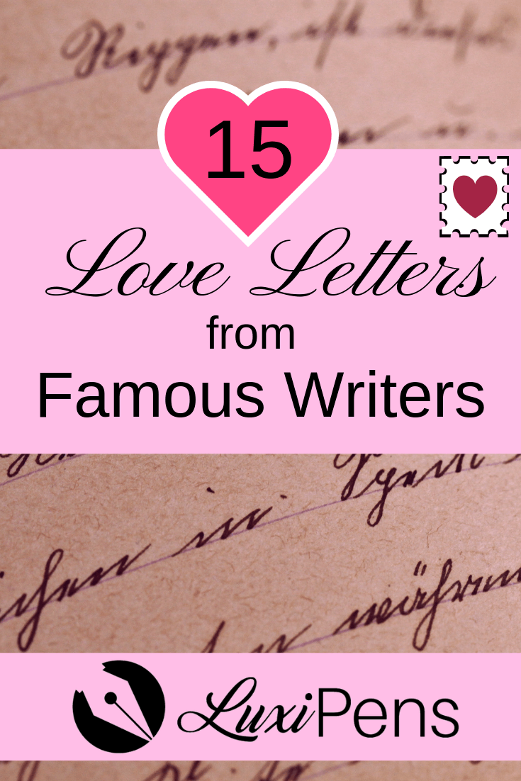 Love Letter from Famous Writers